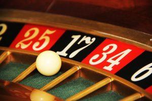Casino Roulette Kugel bei 17